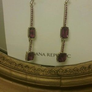 Brilliant Gemstone Pavé Earrings New